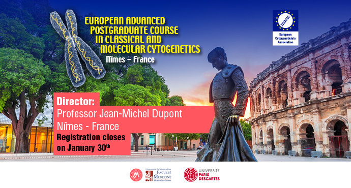European Advanced Postgraduate Course in Classical and Molecular Cytogenetics 2020