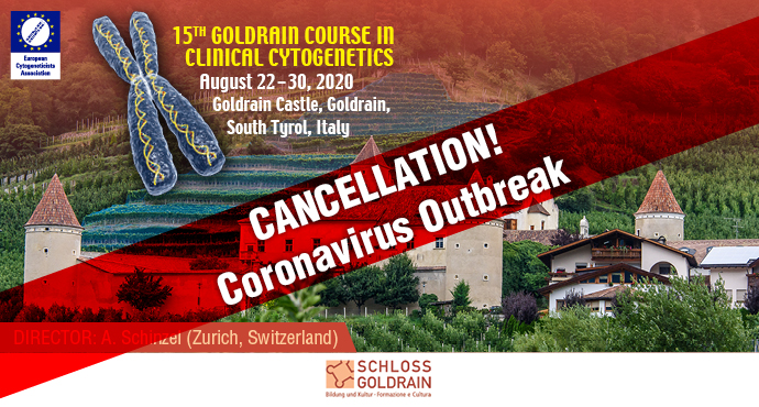 15th Goldrain Course in Clinical Cytogenetics 2020 Cancellation